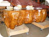 'Gold Nugget' Coffee Table