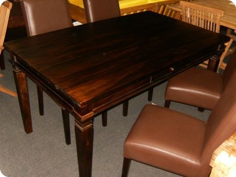 Batavia Teak Dining Table