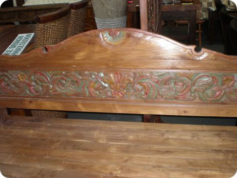 Carved Daybed 07