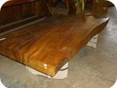 Long Root Wood Coffee Table