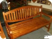 AT Oval Teak Bench