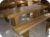 Free Form Rustic Dining Table