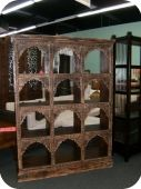 Antique Indian Bookcase/ Display