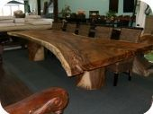 13ft Solid Padua Dining Table