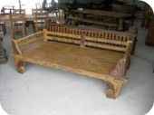 Antique Shell Daybed 9