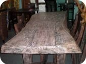 Solid Wood Dining Table - Djawa Style