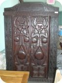 Carved Timor Armoire