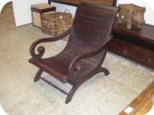 All Wood Plantation Chair