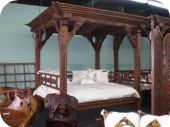 Antique Gazebo Bed