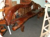 Redwood Free Form Bench